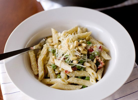 """<strong>Get the <a href=""""http://bakedbree.com/boursin-pasta"""" target=""""_blank"""">Boursin Pasta recipe</a> by Baked Bree</strong>"""