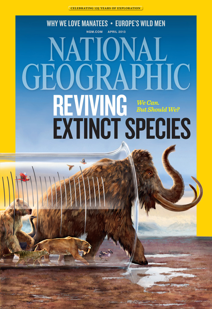 "<a href=""http://www.nationalgeographic.com/deextinction"" target=""_blank"">All images from the April Issue of National Geograph"