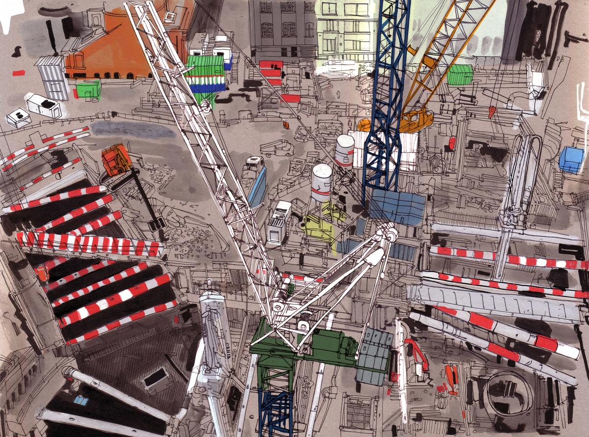 Building Site Patrick Vale