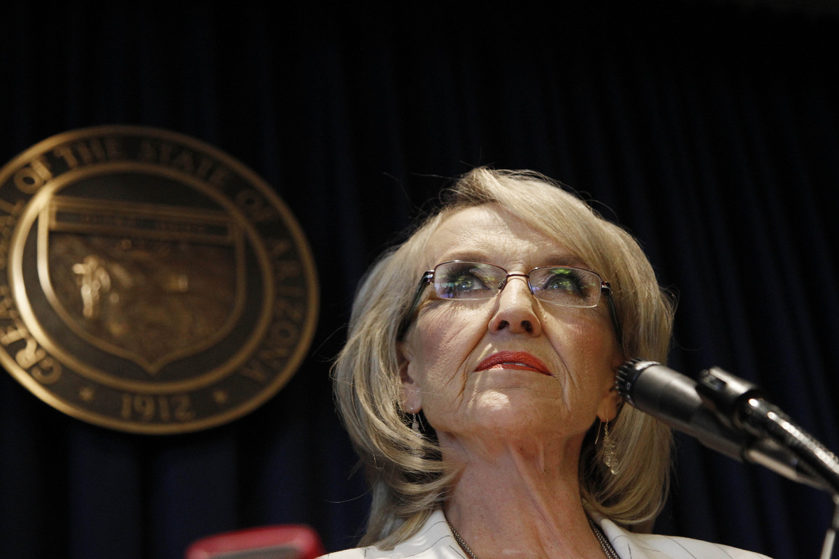 Arizona's governor has locked horns with the federal government ever since signing SB 1070 into law. She routinely says that