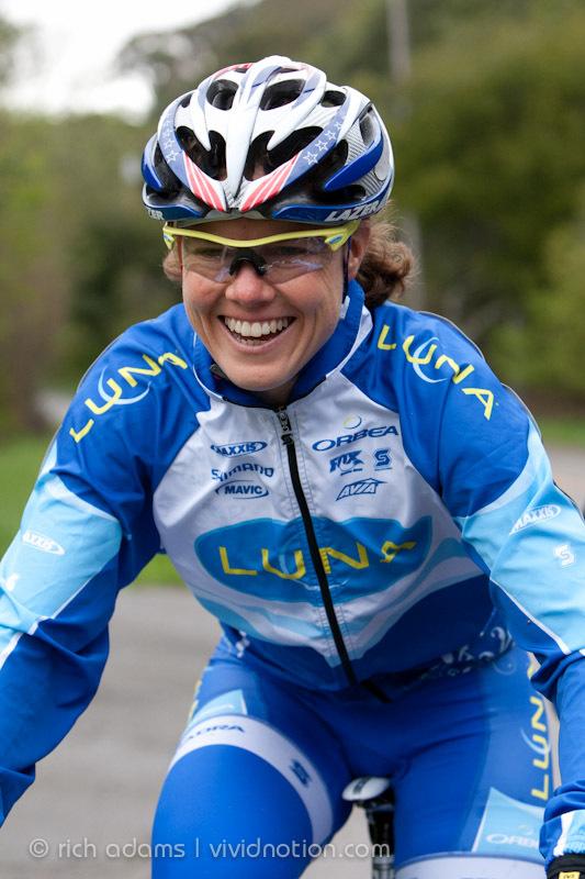 "<b>Who:</b> <a href=""http://georgiagould.com/about/"" target=""_blank"">Georgia Gould, mountain biker</a>, 2012 Olympic bronze m"