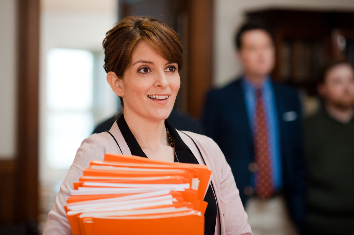 """This film image released by Focus Features shows Tina Fey in a scene from """"Admission."""" (AP Photo/Focus Features, David Lee)"""