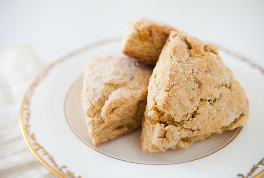 "<strong>Get the <a href=""http://www.simplyrecipes.com/recipes/ginger_scones/"" target=""_blank"">Ginger Scones recipe</a> from S"