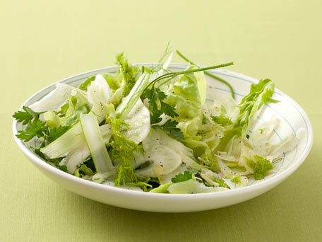 """<strong>Get the <a href=""""http://www.huffingtonpost.com/2011/10/27/parsley-fennel-salad_n_1057512.html"""" target=""""_blank"""">Parsle"""