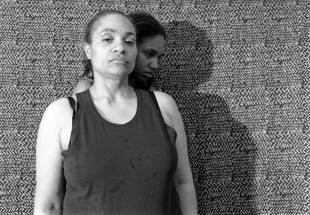 Momme Portrait Series (Shadow) LaToya Ruby Frazier, American, born 1982 7/8 2008 Gelatin silver photograph Mount: 24 x 28 in.