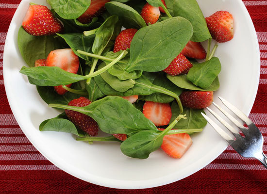 Strawberries are one of nature's sweetest fruits and pack a punch when it comes to Vitamin C – just one cup provides more tha