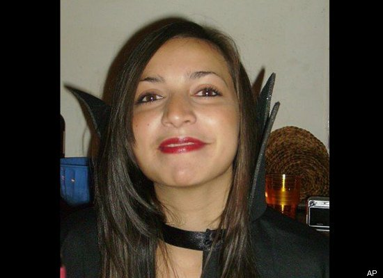 "British student Meredith Kercher, 21, is <a href=""http://www.huffingtonpost.com/huff-wires/20130326/eu-italy-knox-chronology/"