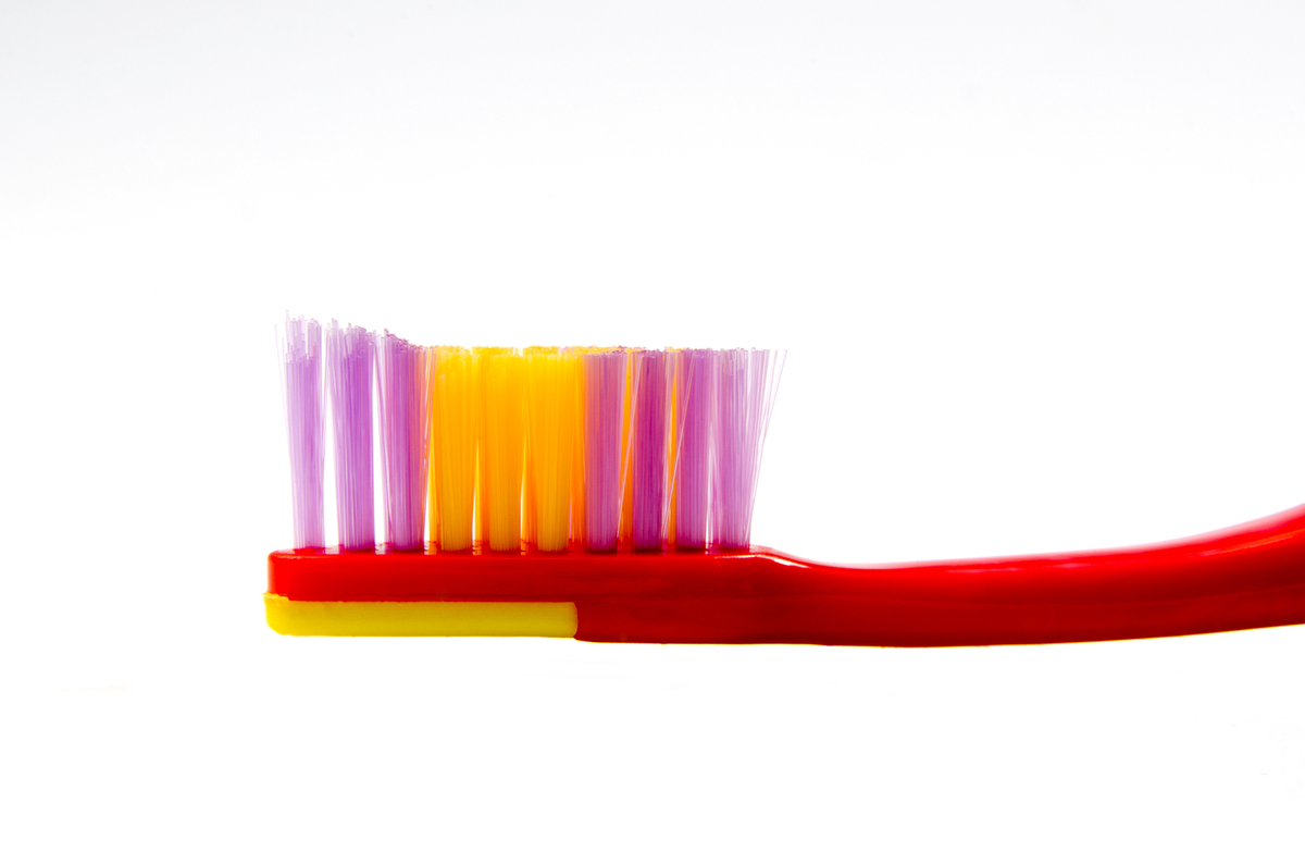 Since your toothbrush has an important job of keeping your chompers squeaky clean, return the favour by giving your brush a f