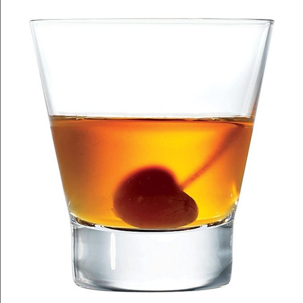 """""""If you're a fan of old-fashioned cocktails, try this riff on a classic manhattan. Maple syrup adds a touch of sweetness."""" --"""