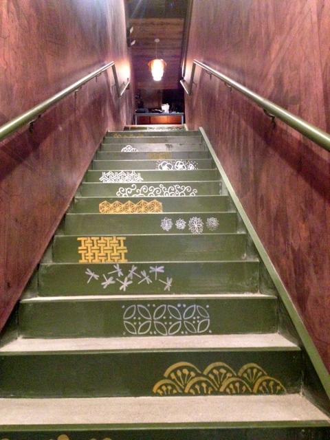 Daikaya's izakaya is accessible via a side door