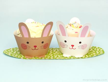 """If you plan on baking cupcakes this Easter, you'll definitely want to print these free wrappers out. Head over to <a href=""""ht"""