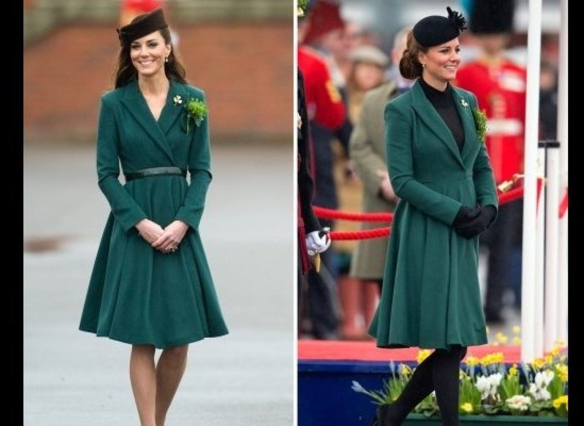 Even the Duchess of Cambridge repeats outfits. 