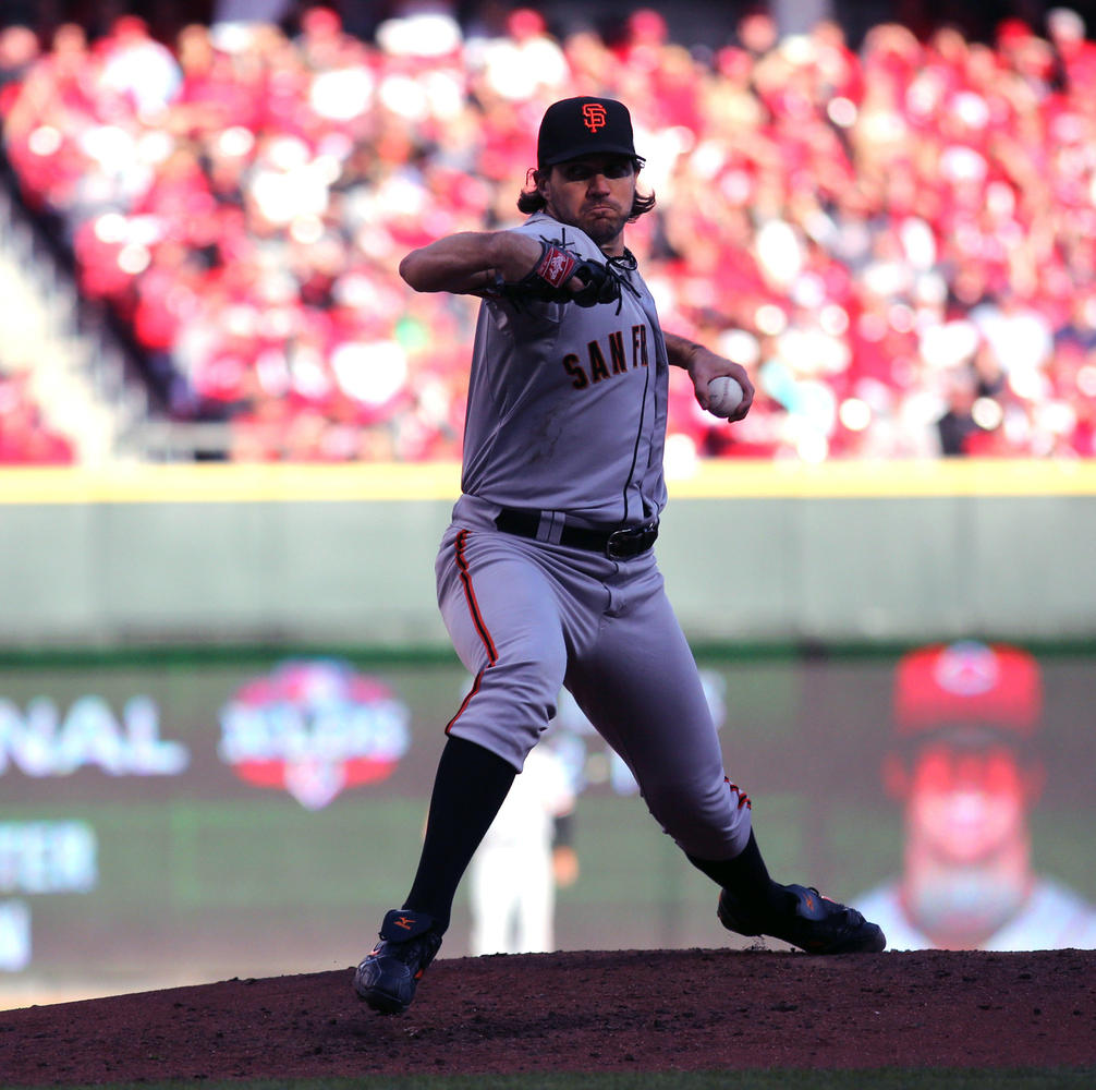 "In NLCS game five, veteran pitcher Barry Zito brought the team back from a 3-1 deficit in what ESPN described as ""<a href=""ht"