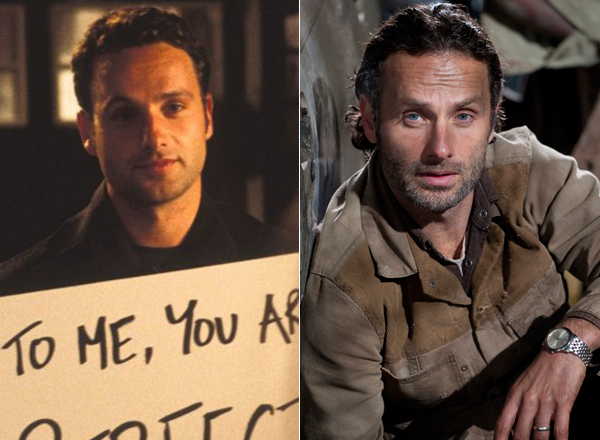 """Before Andrew Lincoln was protecting his post-apocalyptic friends against zombies and a one-eyed Governor as Rick Grimes on """""""