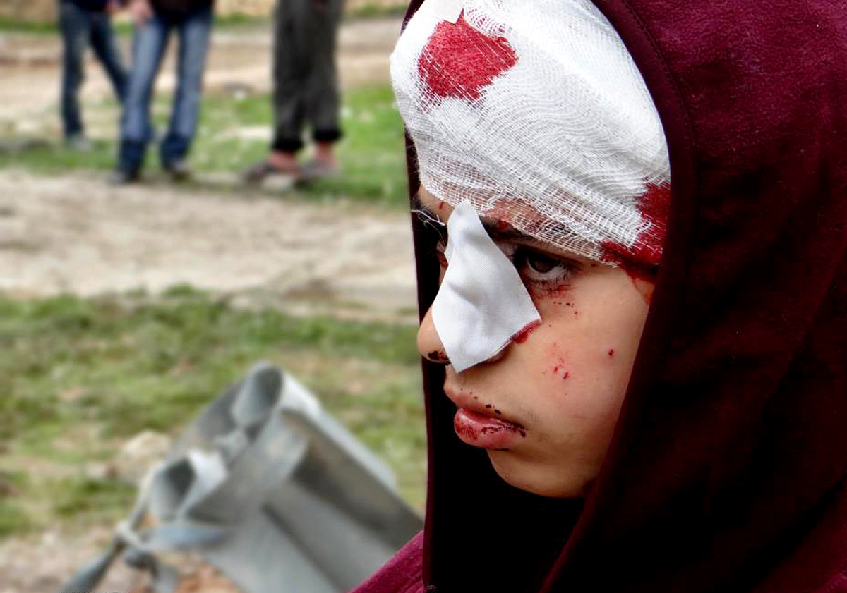 This Friday, March 1, 2013 file citizen journalism image provided by Aleppo Media Center AMC which has been authenticated bas