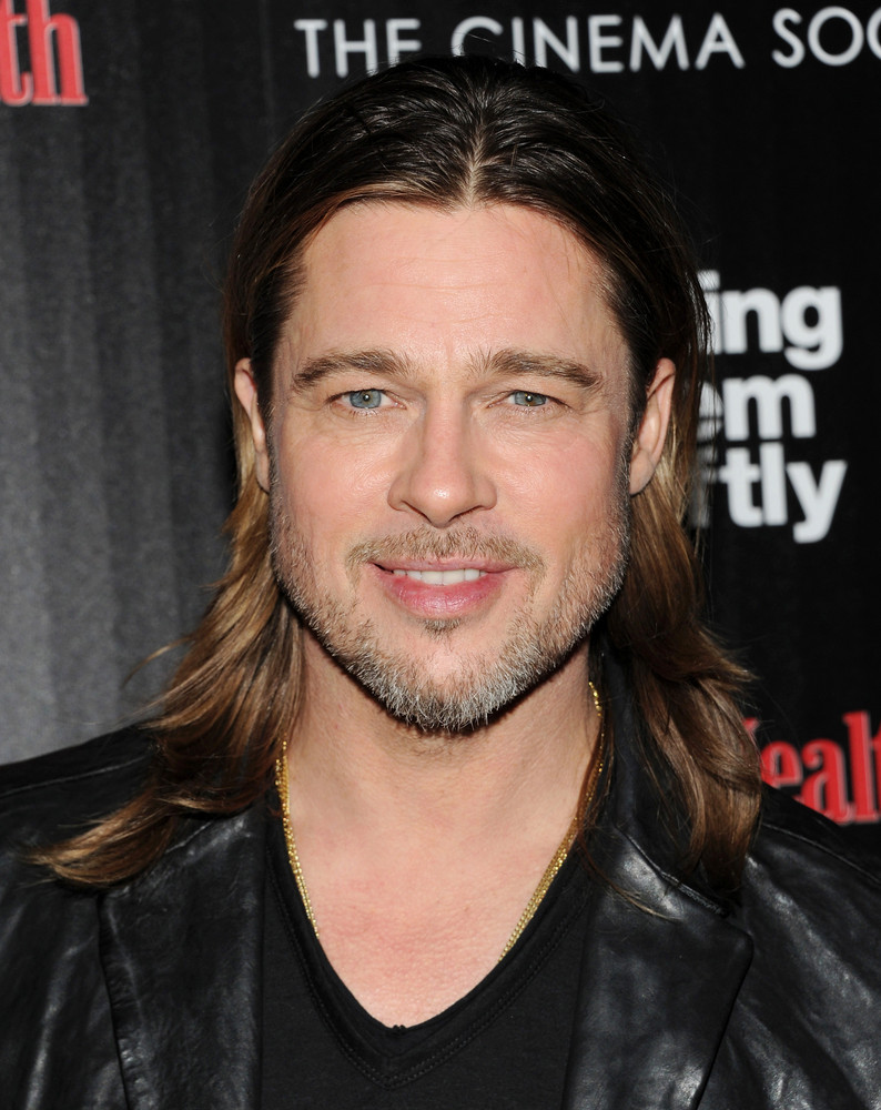 Actor Brad Pitt Attends A Special Screening Of Killing Them Softly Hosted By The