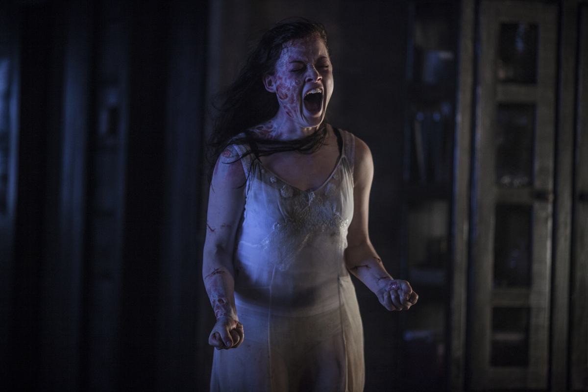 """Screen Crush critic Matt Singer noted <a href=""""http://screencrush.com/evil-dead-review/"""" target=""""_blank"""">in his review</a>, """""""