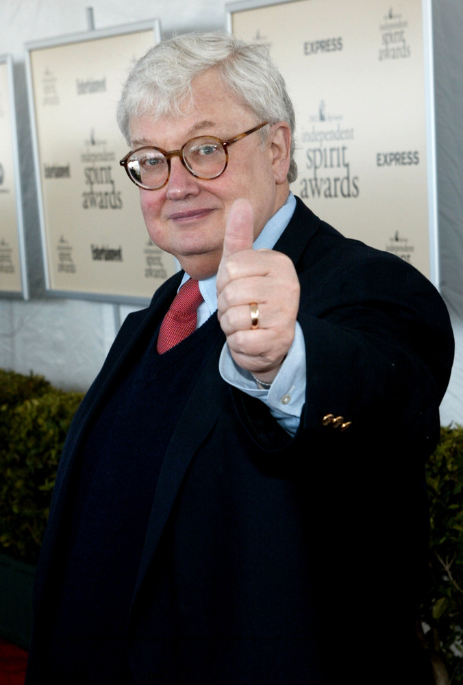 Film critic Roger Ebert attends the 2002 Independent Spirit Awards March 23, 2002 in Santa Monica, CA. (Photo by Frederick M.