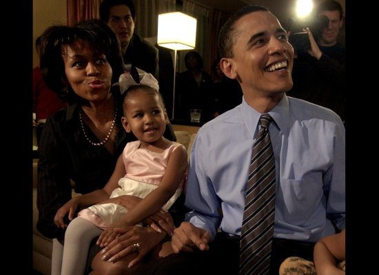 On the evening of the US Senate Democratic primary (AP photo)