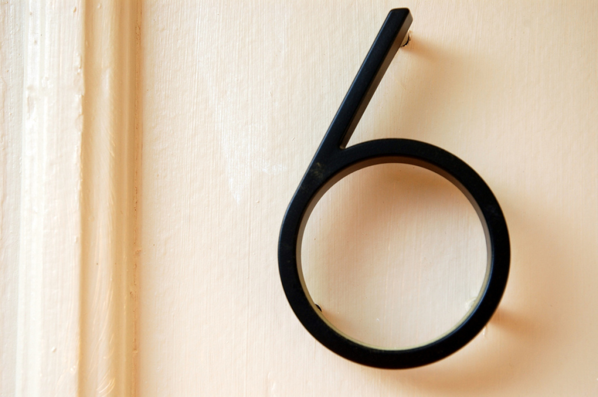 Improve your home's curb appeal with new house numbers. Metal numbers can match any style, from vintage to modern, and adds a