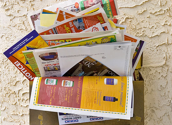 Is your mailbox always loaded with unwanted advertisements, credit card applications and catalogs? Save yourself the trouble