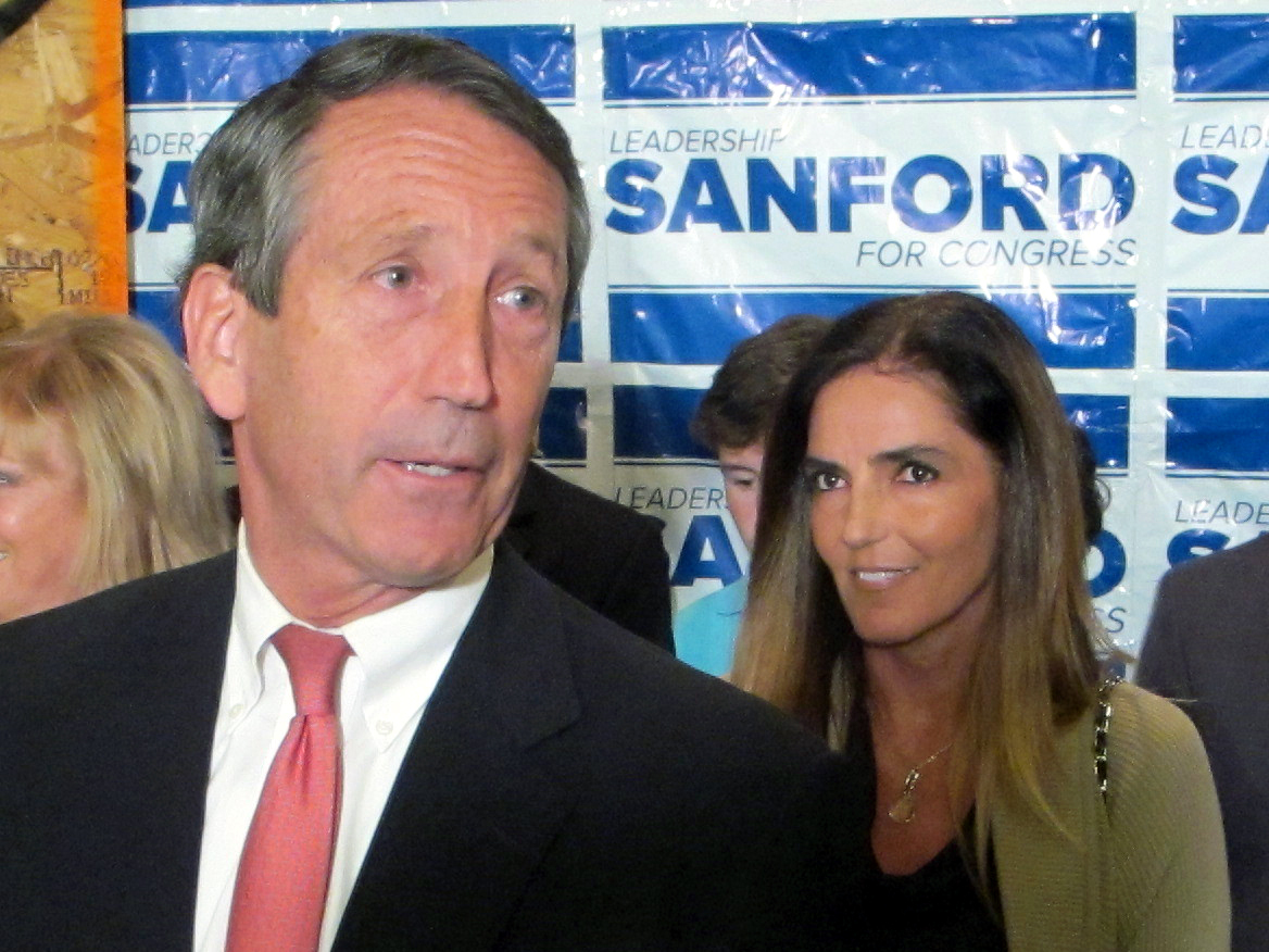 As South Carolina governor in 2009, Sanford admitted that he was having an extramarital affair with an Argentine woman and li