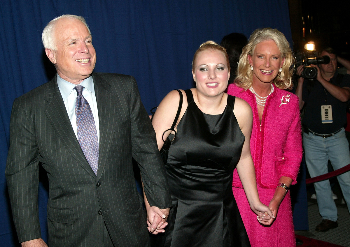 Meghan Mccain Says She Found Out On Twitter That Her Dad