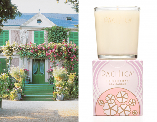 """<a href=""""http://www.pacificaperfume.com/soy-candles/french-lilac-soy-candle-10-5-oz"""" target=""""_blank"""">Pacifica French Lilac</a"""