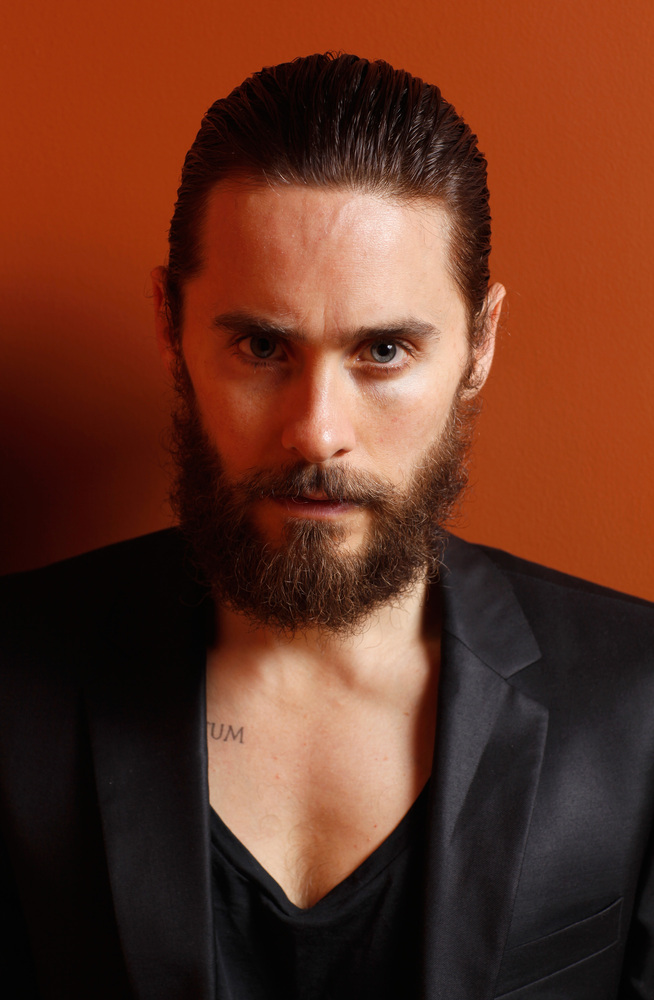 TORONTO, ON - SEPTEMBER 13:  Actor/producer Jared Leto of 'Artifact' poses at the Guess Portrait Studio during 2012 Toronto I