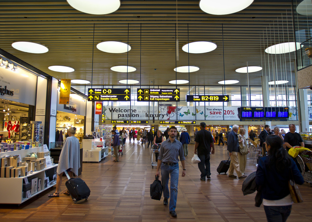 Security processing: Copenhagen International Airport (CPH)