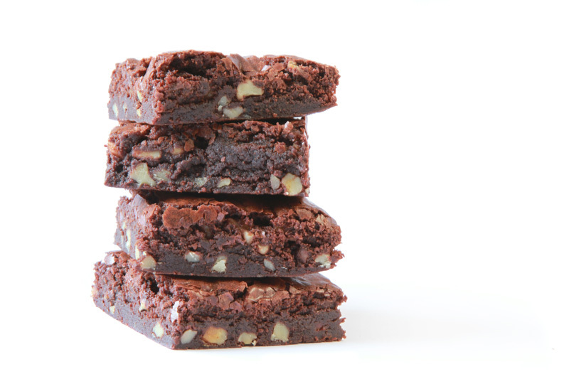 The virtuous ingredient list -- which includes honey, coconut oil, almond butter, almonds, walnuts, dark chocolate, sunflower