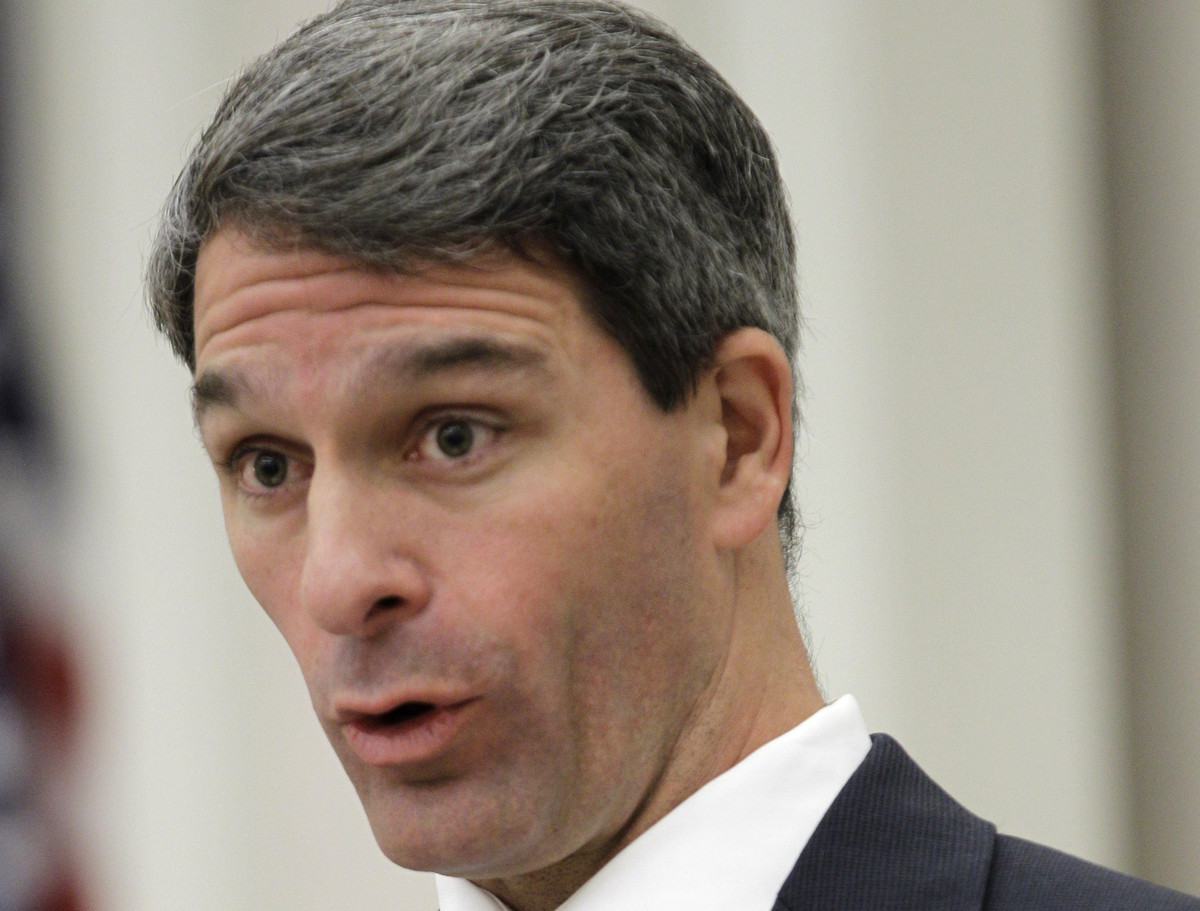 "A staunch conservative who failed in a run for the U.S. Senate last year, Cuccinelli suggested in 2013 that he was ""evolving"""