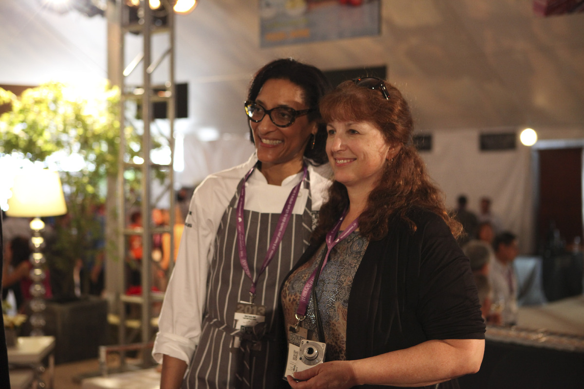It's impossible <em>not</em> to fall in love with Top Chefs Carla Hall on TV, but fans will be happy to know she's every bit