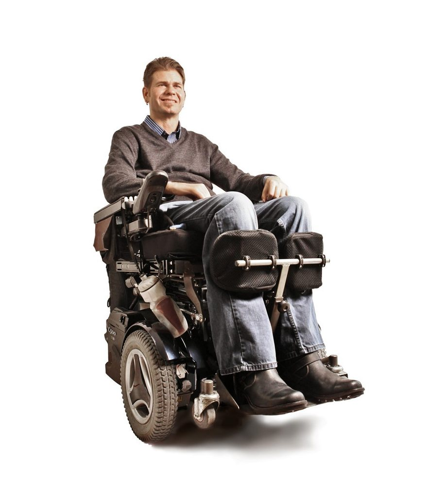 Rafe Biggs from the United States who was paralysed but learned to orgasm with the use of his thumb.  A quadriplegic has redi