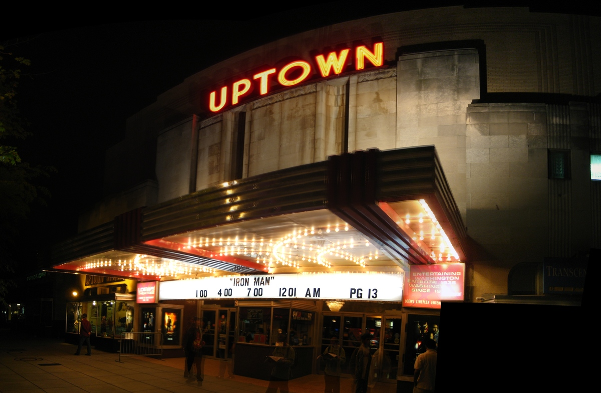Don't like what the Uptown is playing? Wait a week. The single-screen old school theater brings in big-budget features for a