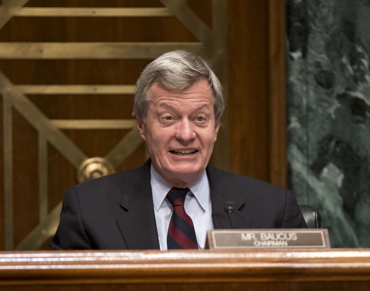 "In April 2013, Sen. Max Baucus (D-Mont.) announced that he would <a href=""http://www.huffingtonpost.com/2013/04/23/max-baucus"
