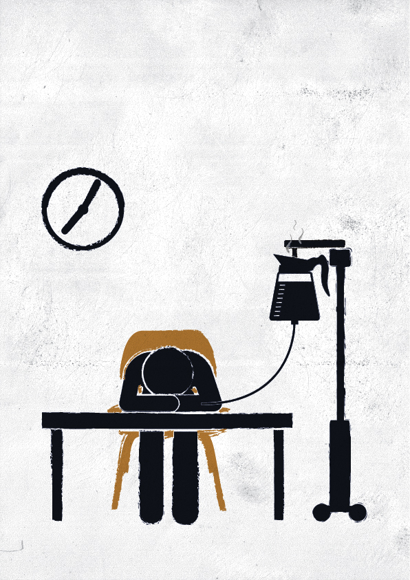 'Morning coffee' (©Viktor Hertz 2013, personal work)
