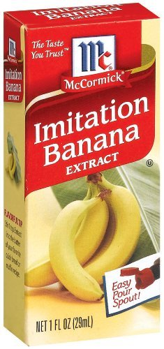 "<strong>The culprit.</strong> This is your fault, <a href=""http://www.amazon.com/McCormick-Banana-Imitation-Extract-1-Ounce/d"