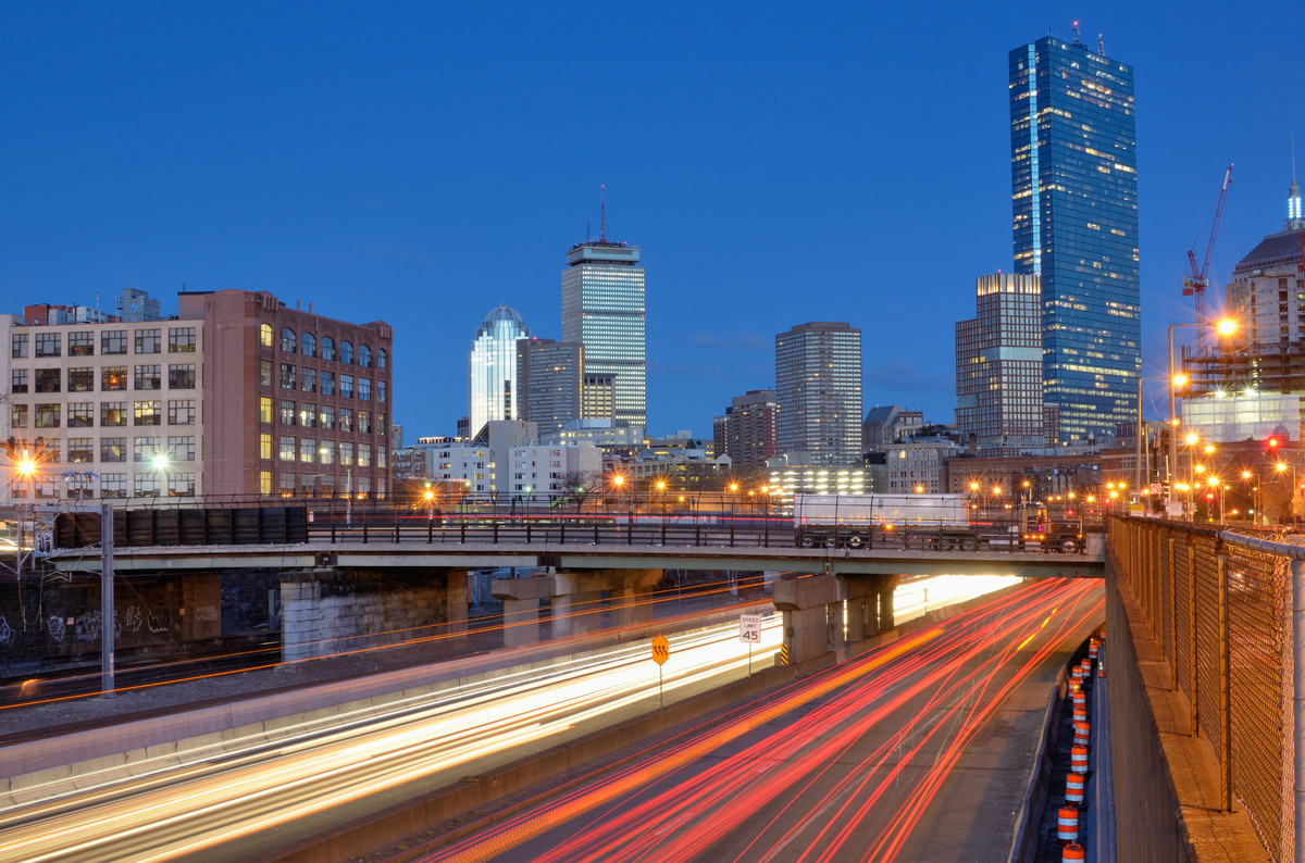 "Boston drivers lost an average of 31 hours in 2012 to traffic, down 22 percent from 2011.   Data from <a href=""http://www.inr"