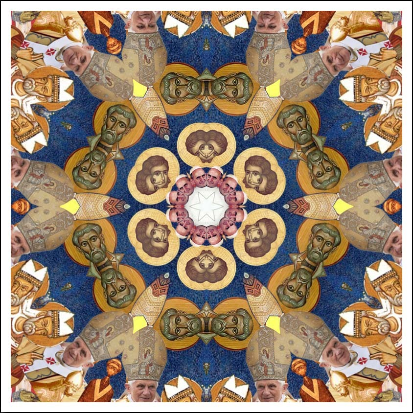 """""""Kaleidopope"""" by Michael Silber"""