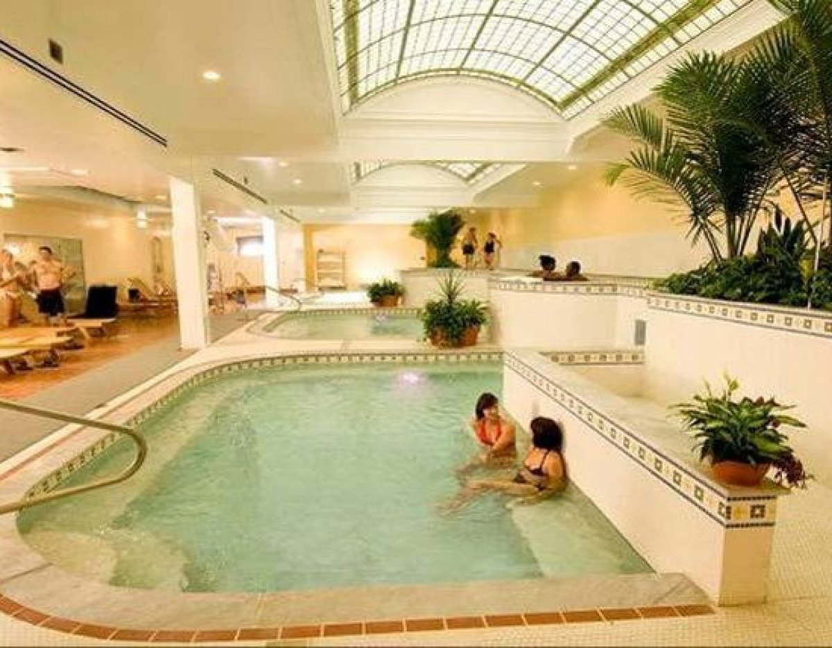 When you think of hot springs destinations, Arkansas may not be first to mind, but in fact, this Midwestern state was one of
