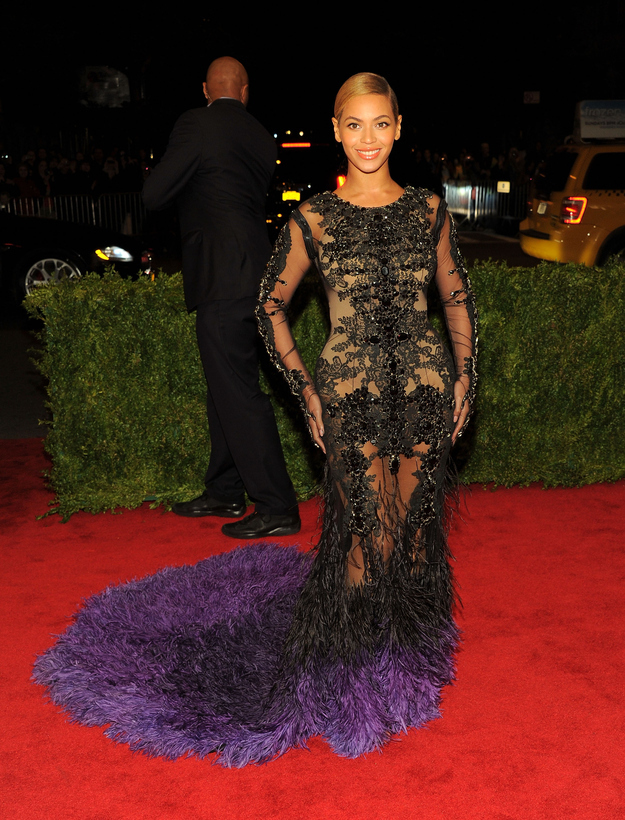 Glittering and intricate, this Givenchy dress is just as fierce as the singer herself.