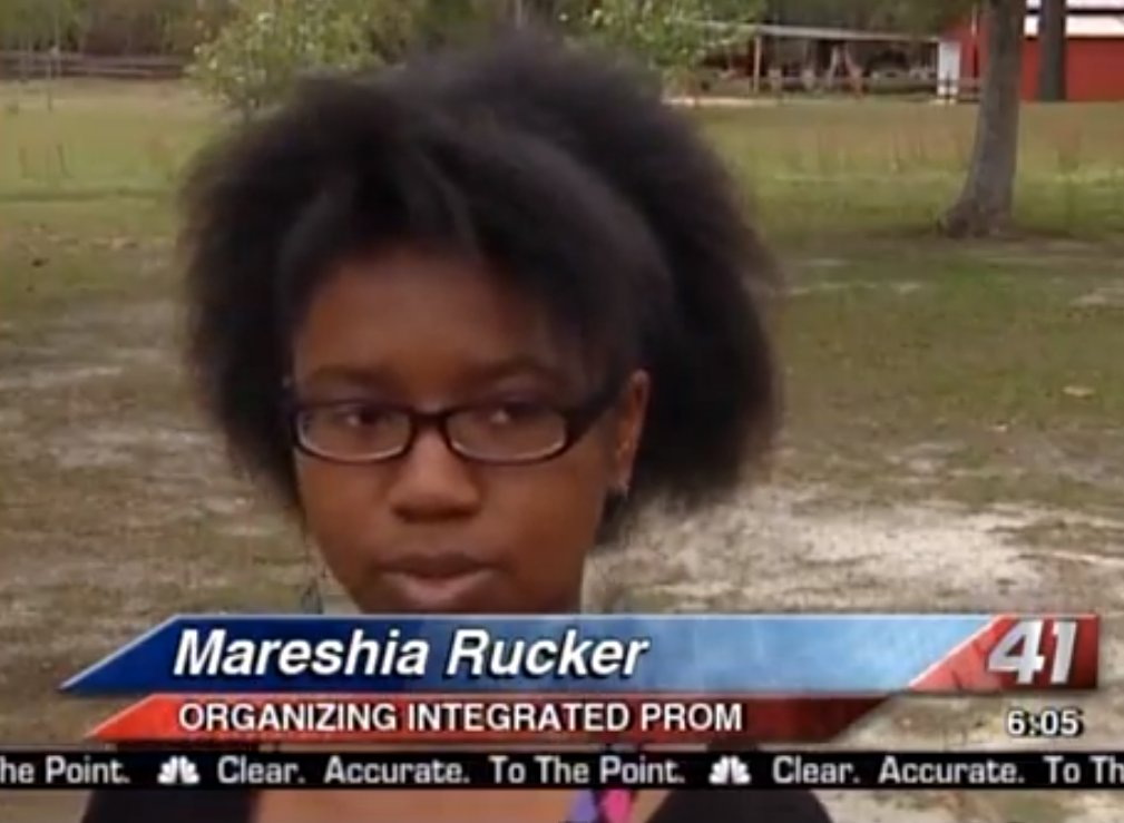 """17-year-old Mareshia Rucker is one of the students who helped organize the first <a href=""""http://www.huffingtonpost.com/2013/"""