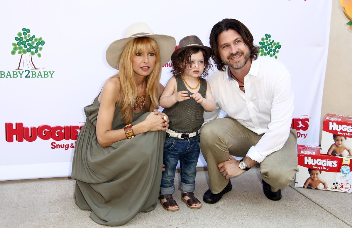 Rachel Zoe, Rodger and Skylar