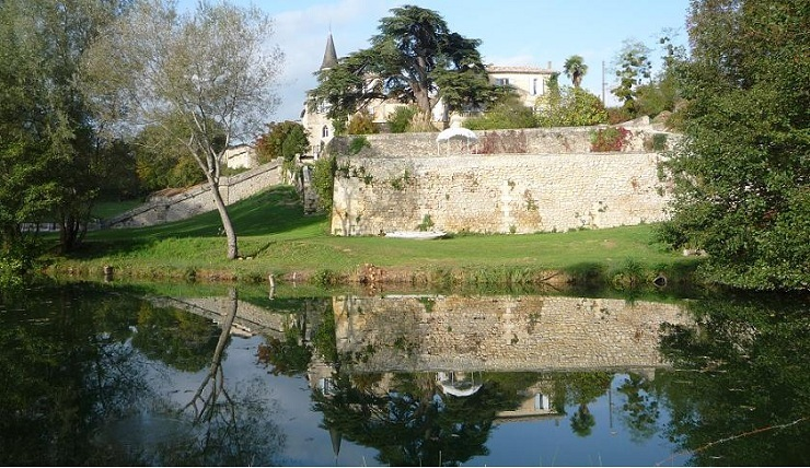 Castle Lagorce is a 15th-century French Castle in the village of Haux, near Bordeaux, South France.