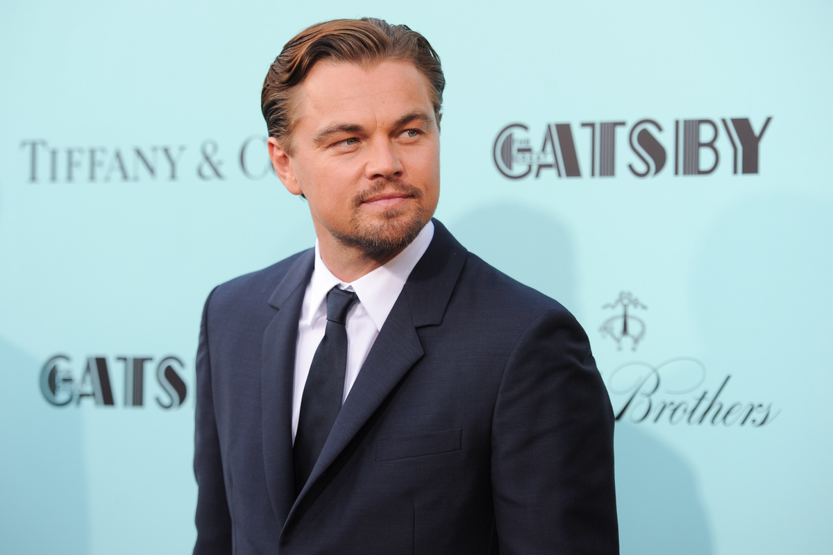 """Actor Leonardo DiCaprio attends """"The Great Gatsby"""" premiere at Avery Fisher Hall on Wednesday, May 1, 2013, in New York. (Pho"""