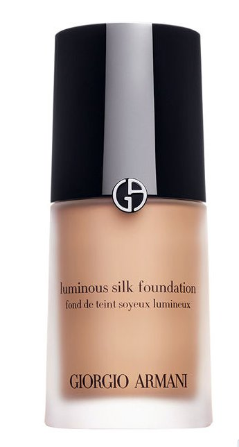 "$60, <a href=""http://www.giorgioarmanibeauty-usa.com/luminous-silk-foundation/A041,default,pd.html"" target=""_blank"">Giorgioar"