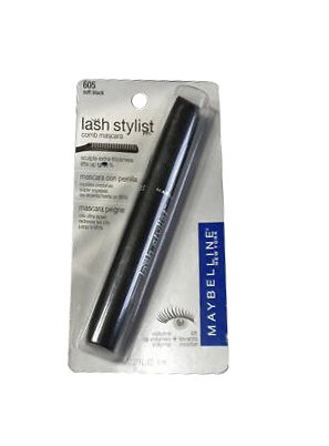 "$15, <a href=""http://www.ebay.com/itm/Maybelline-LASH-STYLIST-Washable-Mascara-SOFT-BLACK-605-/151036533889?_trksid=p3284.m26"