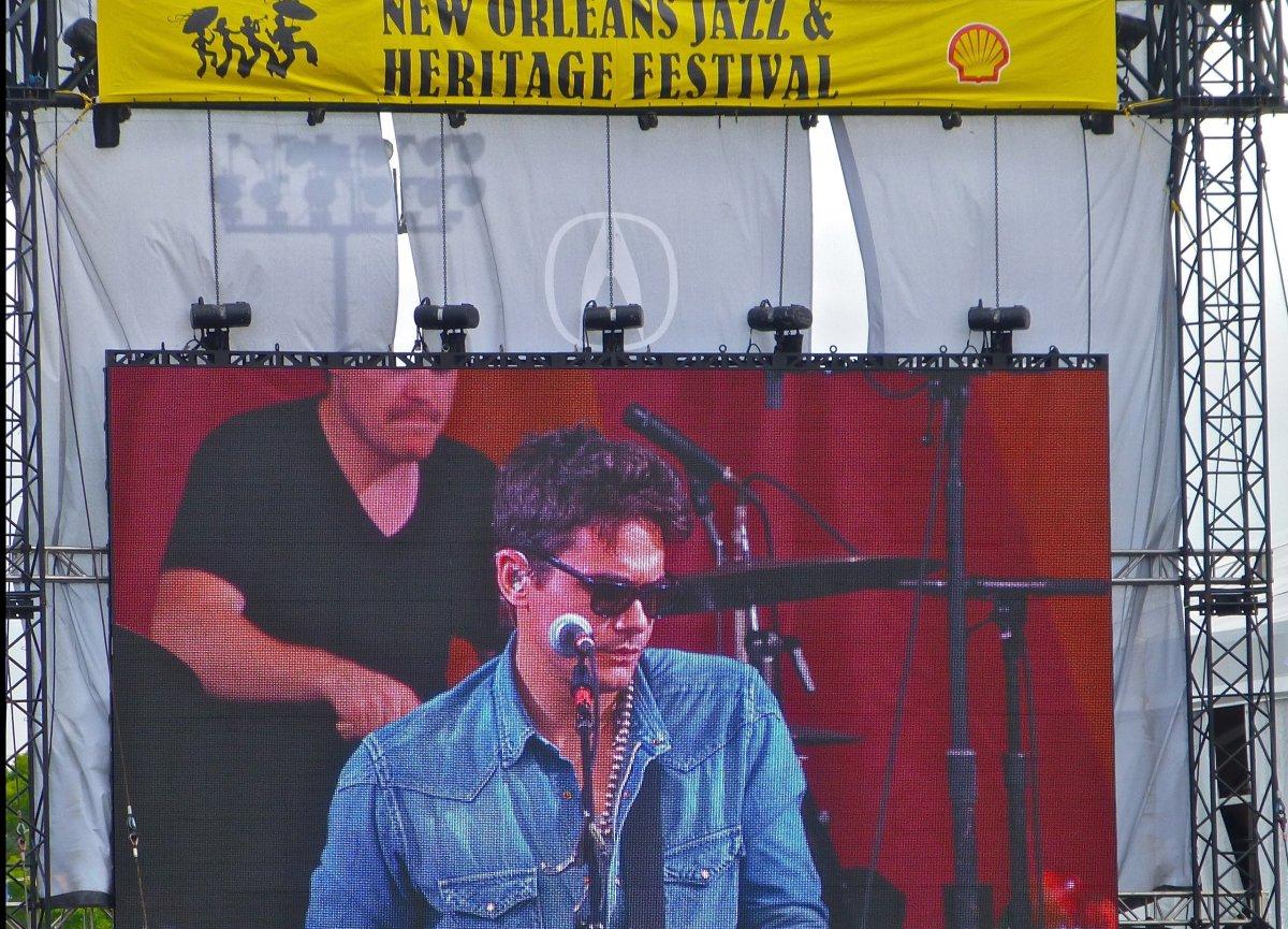 John Mayer and other pop stars (Maroon 5, Billy Joel, Dave Matthews Band) and music legends (Allen Toussaint, Dr. John) grace