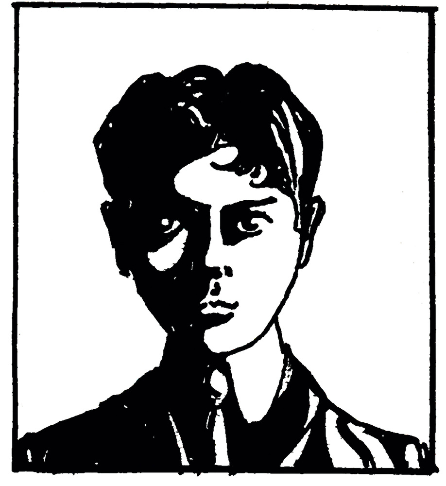 Egon Schiele, Self-Portrait, 1906, sketchbook (cat. no. 30/9)